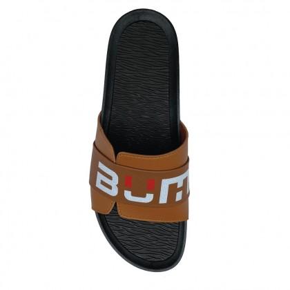 BUM Equipment Men's United Colours Slide Sandals - Black/Brown/Blue